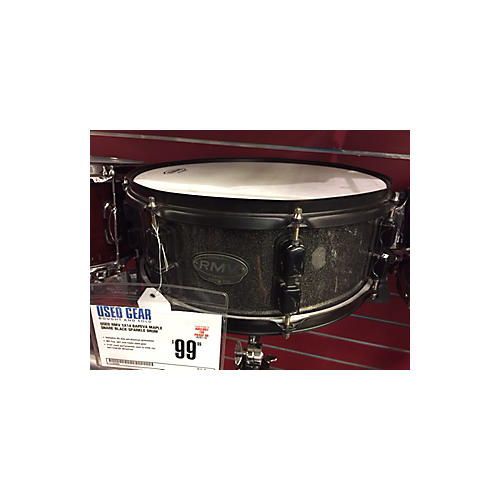 In Store Used Used RMV 5X14 BAPEVA MAPLE SNARE BLACK SPARKLE Drum-thumbnail
