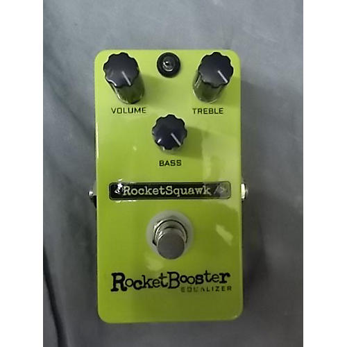 In Store Used Used ROCKET SQUAWK ROCKET BOOSTER EQ Pedal