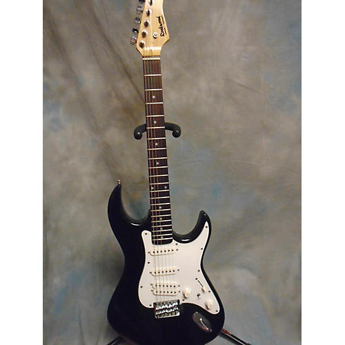 In Store Used Used ROCKWOOD HOHNER 2013 LX200G Black Solid Body Electric Guitar