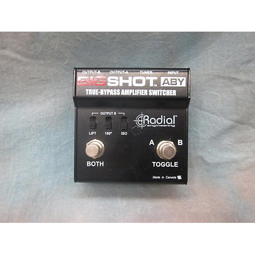 In Store Used Used Radial Big Shot Pedal