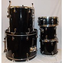 Used Radical Drums 5 piece Drum Kit Black Drum Kit