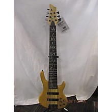 Used Raven West Guitars RWG 7-String Natural Electric Bass Guitar