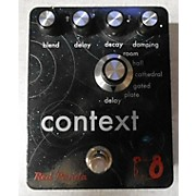 Used Red Panda Context Reverb Effect Pedal
