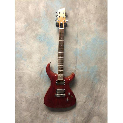 In Store Used Used Redback Longhorn F1 Trans Red Solid Body Electric Guitar