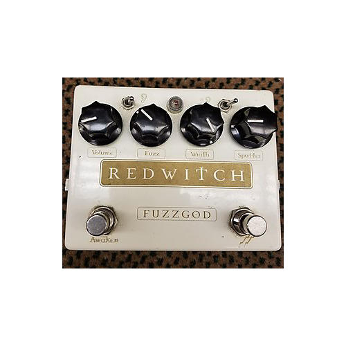 In Store Used Used Redwitch Fuzzgod Effect Pedal-thumbnail