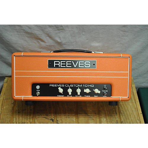 used reeves custom 10hg tube guitar amp head guitar center. Black Bedroom Furniture Sets. Home Design Ideas