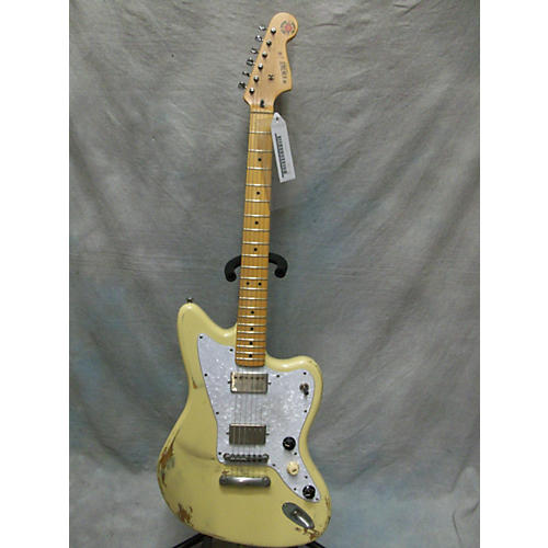 In Store Used Used Relic Guitars The Hague 2015 Vintage J Cream Solid Body Electric Guitar Cream