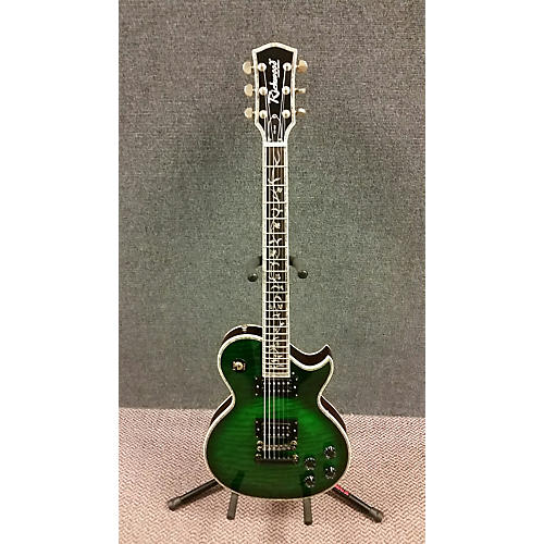 In Store Used Used Richwood ER135 Trans Green Solid Body Electric Guitar