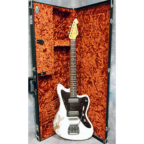 In Store Used Used Rock N Roll Relics 2013 Jazz 90 Olympic White Solid Body Electric Guitar