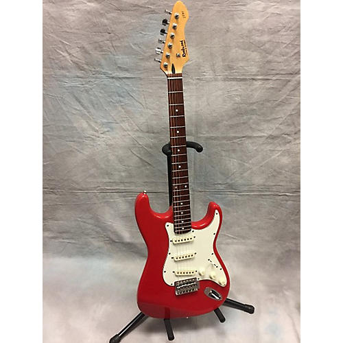 In Store Used Used Rockwood Lx90 Red Solid Body Electric Guitar-thumbnail