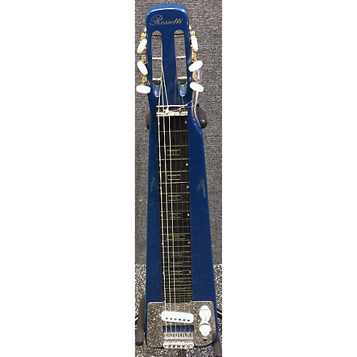 In Store Used Used Rossetti Lap Steel Baltic Blue Solid Body Electric Guitar-thumbnail