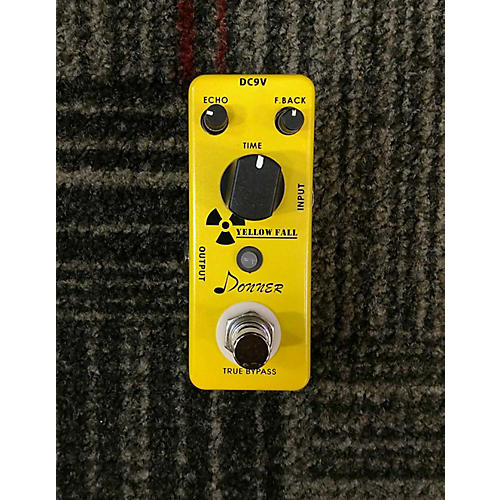 In Store Used Used Rowin Donner Yellow Fall Effect Pedal