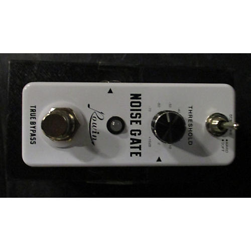 how to use a noise gate pedal