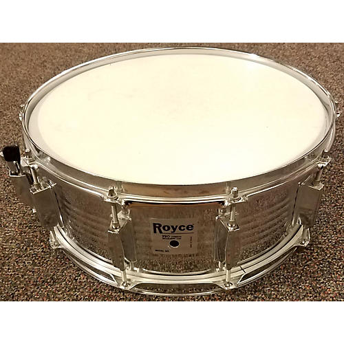 In Store Used Used Royce 5X14 Student Chrome Drum