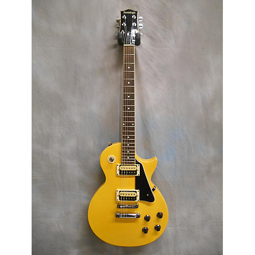 In Store Used Used SANATOGA SINGLECUT Yellow Solid Body Electric Guitar-thumbnail