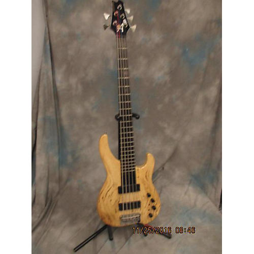 In Store Used Used SCOTTY AMBUSH ACB5 Natural Electric Bass Guitar-thumbnail