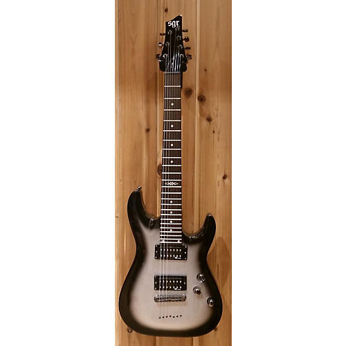 In Store Used Used SGR C7SGR Black And Silver Solid Body Electric Guitar Black and Silver