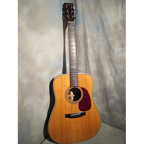 In Store Used Used SHENANDOAH BY MARTIN SD-28H Natural Acoustic Guitar-thumbnail