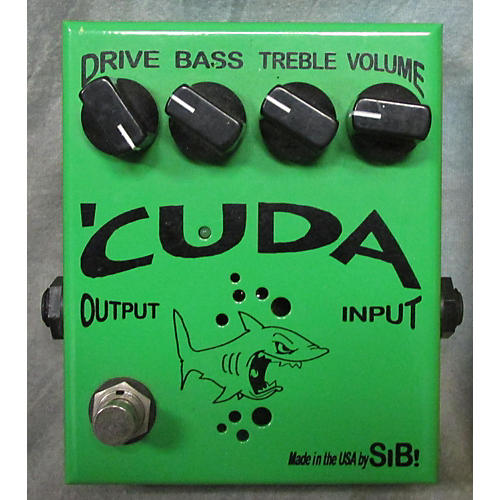 In Store Used Used SIB ELECTRONICS CUDA OVERDRIVE Effect Pedal