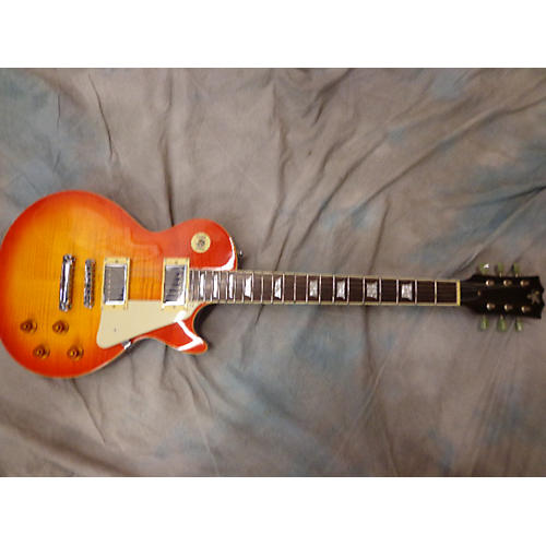 In Store Used Used SKV 2000s Single Cutaway 2 Color Sunburst Solid Body Electric Guitar-thumbnail