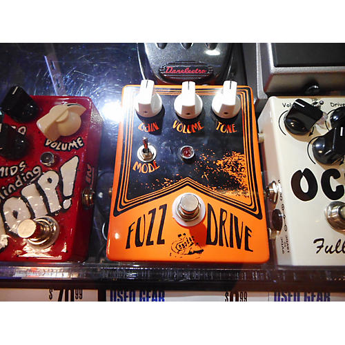 In Store Used Used SMODER AUDIO FUZZ DRIVE Effect Pedal