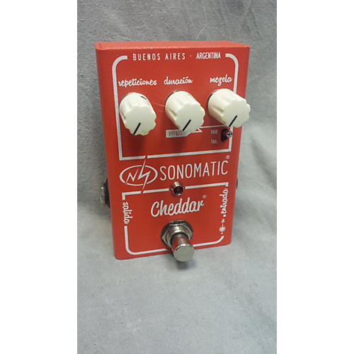 In Store Used Used SONOMATIC CHEDDAR Effect Pedal-thumbnail