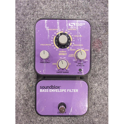 In Store Used Used SOUNDBLOX BASS ENVELOPE FILTER Bass Effect Pedal