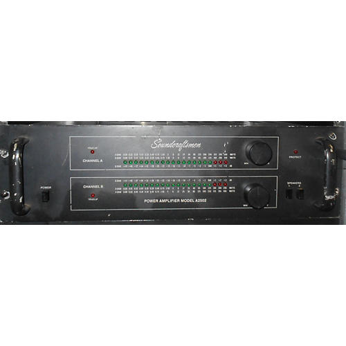In Store Used Used SOUNDCRAFSTMEN A2502 MOSFET 500W Power Amp