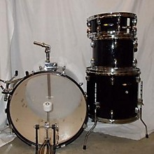 Used SP 4 piece Drum Kit Black Drum Kit