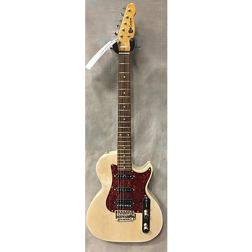 In Store Used Used S&T Custom 1990s Bluesmaster Trans Blonde Solid Body Electric Guitar-thumbnail