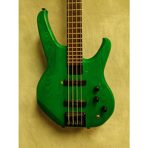 In Store Used Used STATUS ENERGY BASS Green Electric Bass Guitar