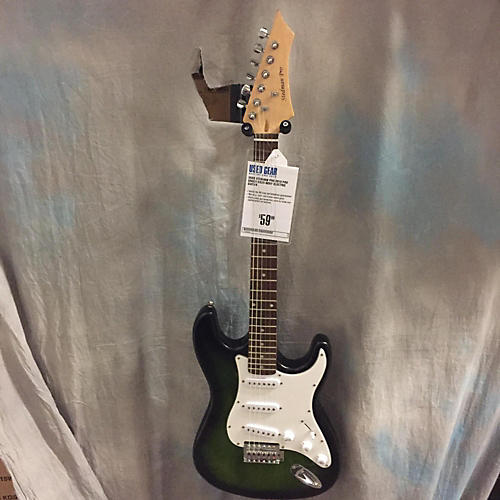 In Store Used Used STEDMAN PRO 2010 PRO Green Solid Body Electric Guitar-thumbnail