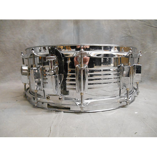 In Store Used Used STEEL 6.5X14 SNARE DRUM Drum Chrome-thumbnail