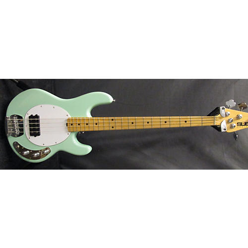 In Store Used Used STERLING 2010s SUB Mint Green Electric Bass Guitar