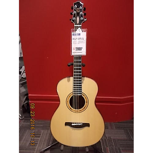 In Store Used Used STEVE FISCHER 12/15 Natural Acoustic Guitar-thumbnail