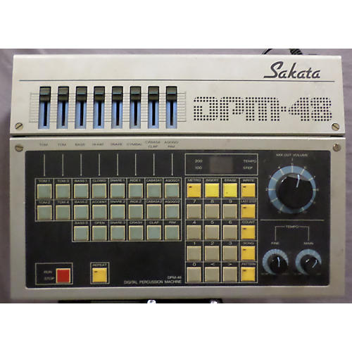 In Store Used Used Sakata 1980s DPM48 Drum Machine-thumbnail