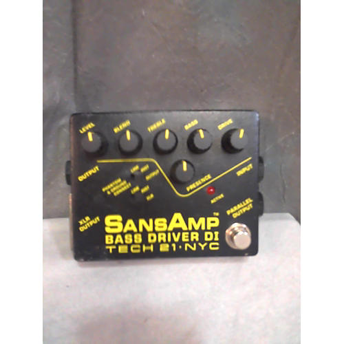 In Store Used Used Sans Amp Tech 21bass Driver DI Bass Effect Pedal-thumbnail