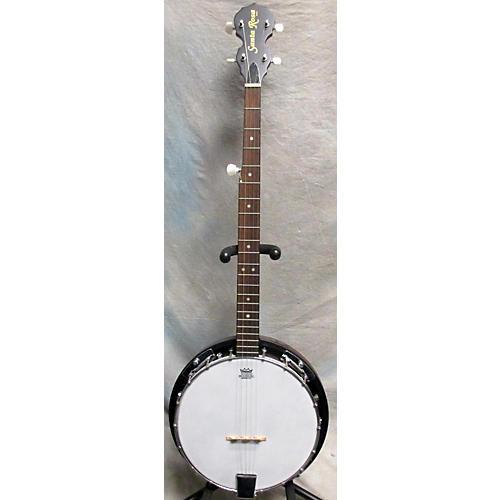 In Store Used Used Santa Rosa Banjo Natural Banjo-thumbnail