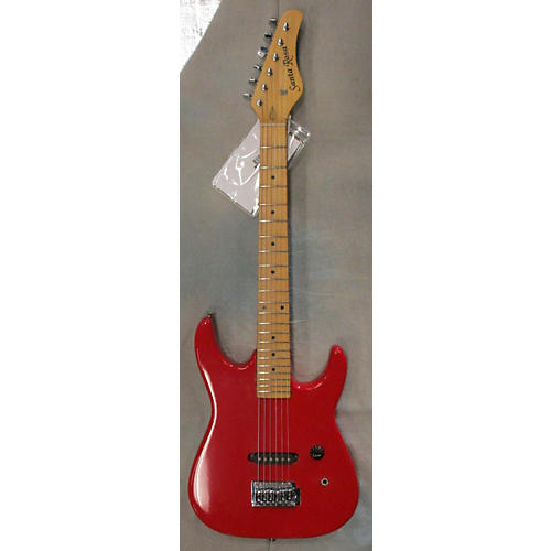 used santa rosa single pickup s style red solid body electric guitar guitar center. Black Bedroom Furniture Sets. Home Design Ideas