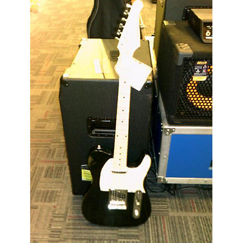 In Store Used Used Sawtooth Single Cut Black Solid Body Electric Guitar