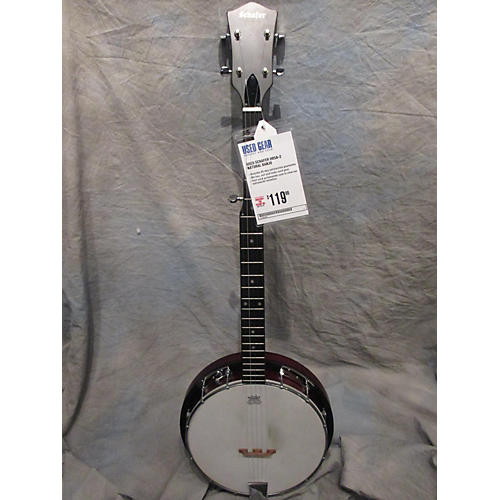 In Store Used Used Schafer Hb5a-2 Natural Banjo