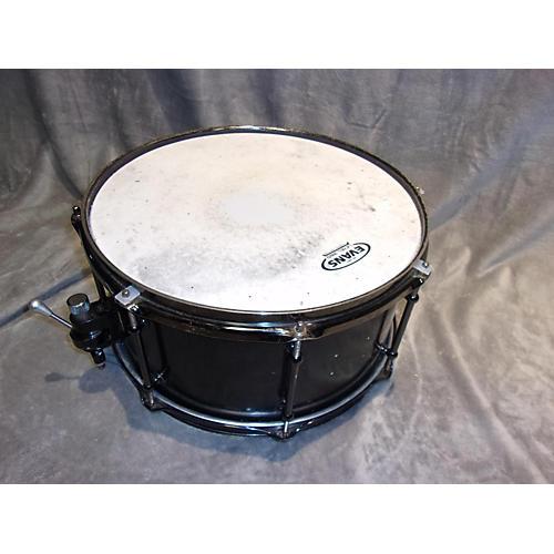 In Store Used Used Seven Drumworks 6.5X14 Snare Black Drum