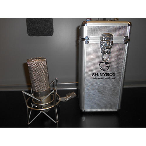 In Store Used Used Shinybox 2000s 46mx Ribon Mic W/shock Mount Ribbon Microphone-thumbnail