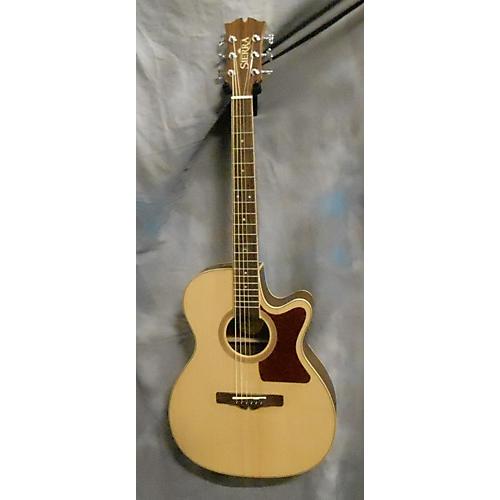 In Store Used Used Sierra SAS30CEM Natural Acoustic Guitar