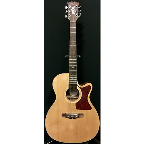 In Store Used Used Sierra Sa28c Natural Acoustic Guitar