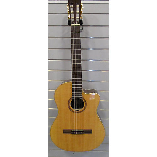 In Store Used Used Sierra Sc140ce Solid Spruce Classical Acoustic Electric Guitar-thumbnail