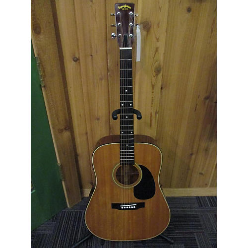 In Store Used Used Sigma Guitars 1982 DM3 Natural Acoustic Guitar-thumbnail