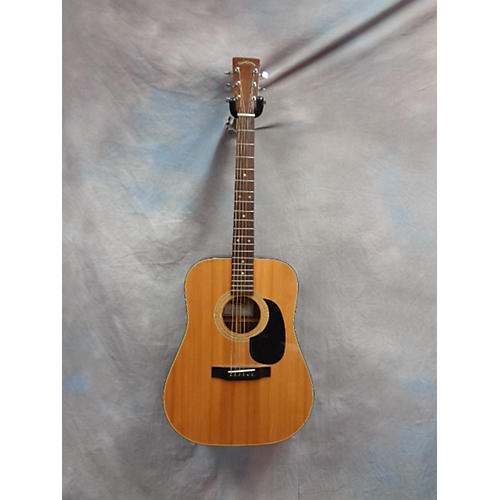In Store Used Used Sigma Guitars 2000s DM-4 Natural Acoustic Guitar