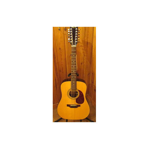 In Store Used Used Sigma Guitars By Martin DM 12ST Natural 12 String Acoustic Guitar-thumbnail