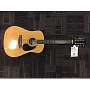 Used Sigma Guitars DM12-2 Natural 12 String Acoustic Guitar